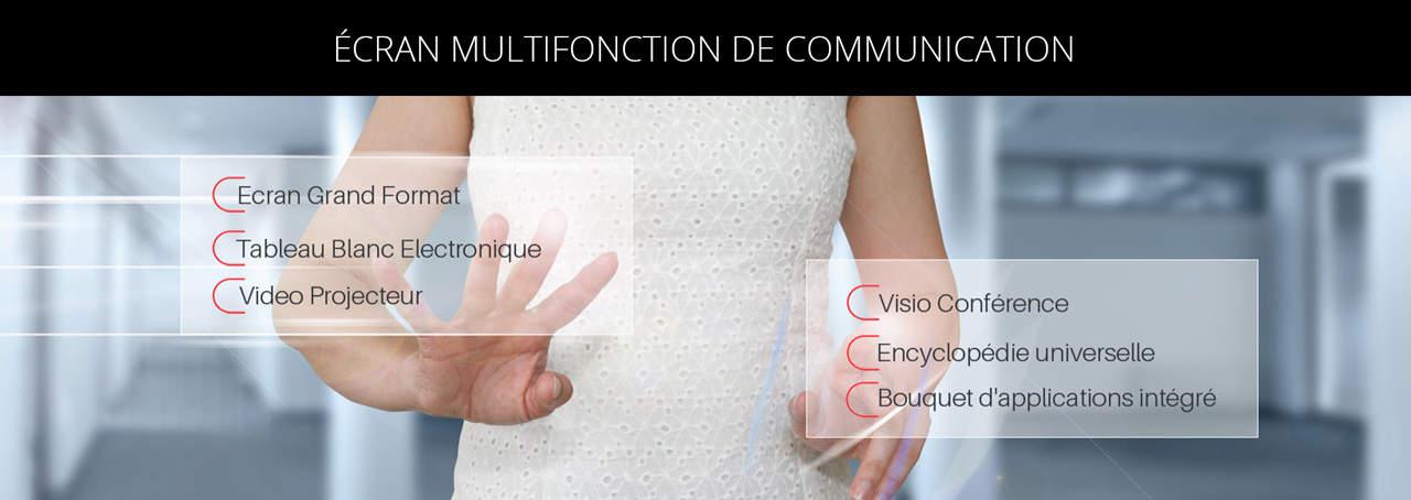 ECRAN MULTIFONCTION DE COMMUNICATION